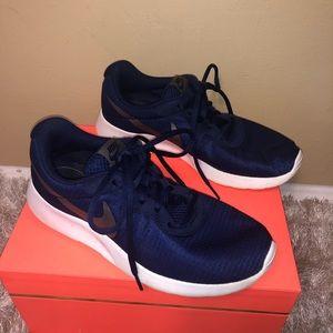 EUC Blue Nike Tennis Shoes